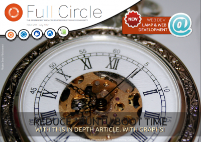 Full Circle Magazine #63 Cover